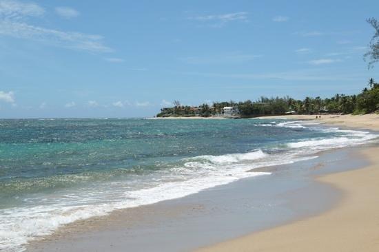 Villa Montana Beach Resort: May 31, 14 view of the beatiful beach