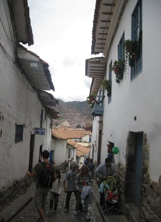 Centro Historico De Cusco: typical narrow lanes