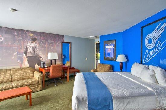 816 Hotel: Missouri Comets Pro Soccer Themed Room