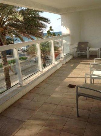 Hilton Fort Lauderdale Beach Resort: Varanda Fantastica !