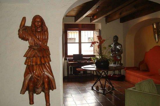 Hotel Lo De Bernal: La recepción
