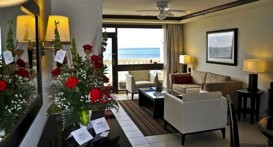 Bucuti & Tara Beach Resort Aruba : Penthouse Suite, Living Area, Bucuti & Tara Beach Resorts Aruba