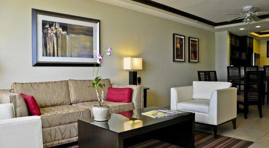 Bucuti & Tara Beach Resort Aruba : Living Area, Penthouse Suite, Bucuti & Tara Beach Resorts Aruba