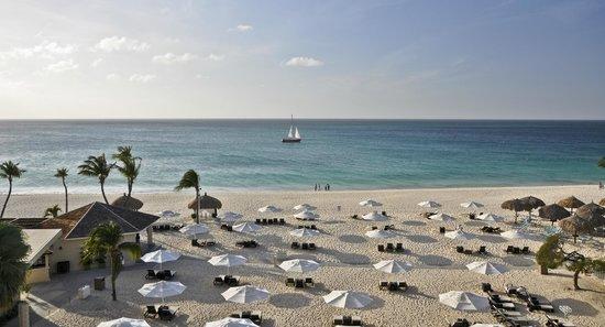 Bucuti & Tara Beach Resort Aruba : View from Penthouse balcony, Bucuti & Tara Beach Resorts Aruba