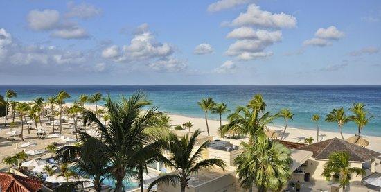 Bucuti & Tara Beach Resort Aruba : View from balcony, Penthouse, Bucuti & Tara Beach Resorts Aruba
