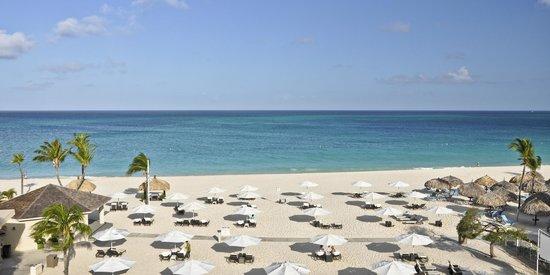 Bucuti Tara Beach Resort Aruba View From Balcony