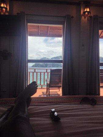 Phi Phi The Beach Resort: La habitación, perfecta