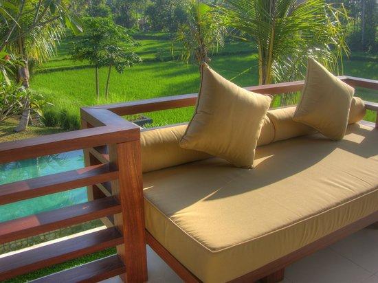 Villa Sabandari: Balcony BARONG room