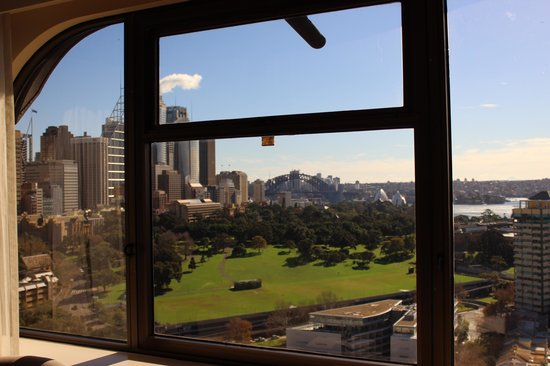 The Sydney Boulevard Hotel : View from 2101