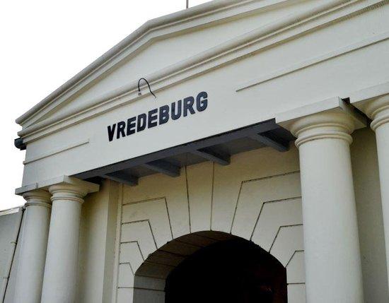 Yogyakarta Fortress Museum : pintu gerbang museum vredeburg