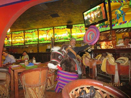 Perico's : Inside the restaurant.