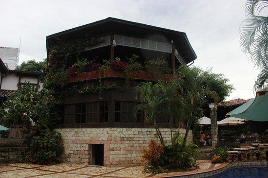 Hotel Marina Copan: Un lindo lugar para almorzar
