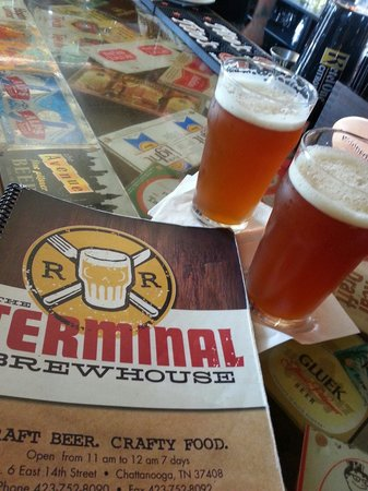 The Terminal Brewhouse : Craft beer. YUM.