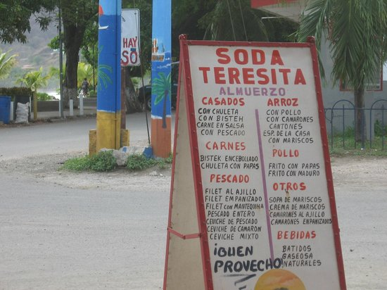 Soda La Teresita: THERE SIGN