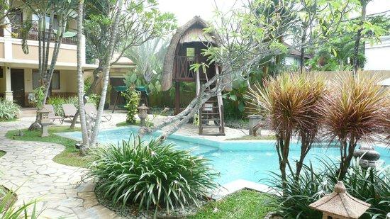 Mutiara Bali Boutique Resort & Villas: common pool