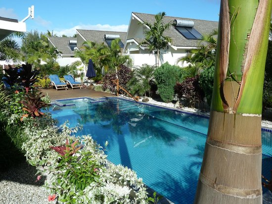 Cooks Bay Villas: Lovely Pool area