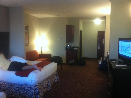 Holiday Inn Express Hotel & Suites Fort Stockton: Beds