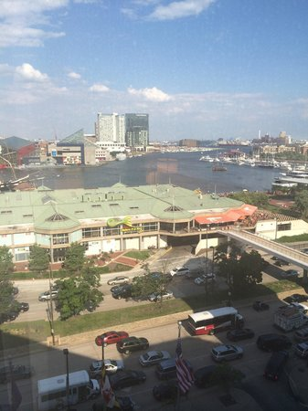 Hyatt Regency Baltimore Inner Harbor: View from room