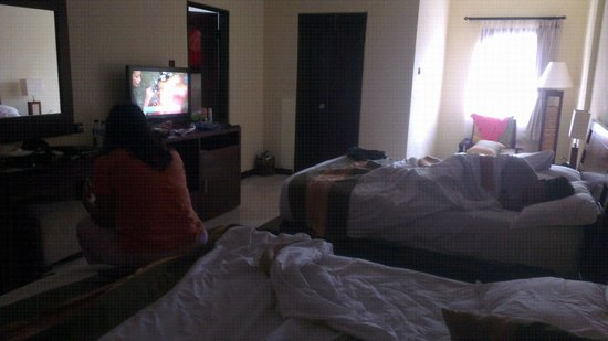 Adi Dharma Hotel: Family Room