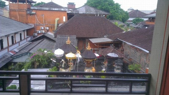 Adi Dharma Hotel: View from balcony