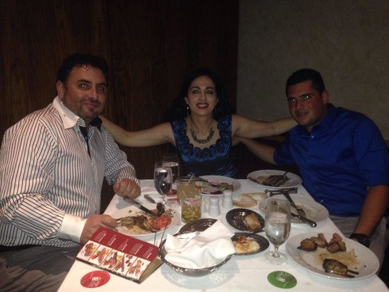 Fogo de Chao Brazilian Steakhouse: The Hadjisavvas Enjoying Great Dinner