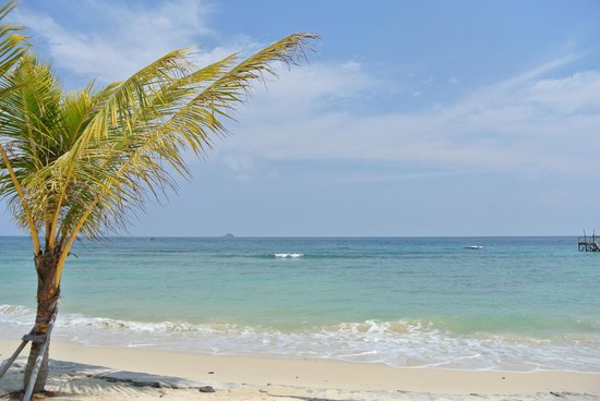 Tunamaya Beach & Spa Resort : beach