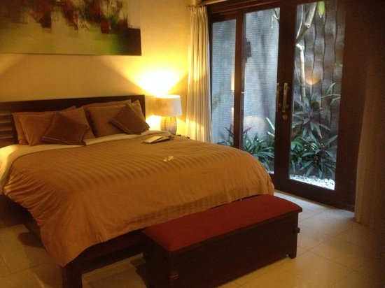 Rumah Santai Villas : Open planting in every area was pleasant