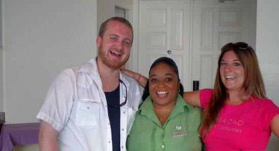 Hilton Curacao: Kareen! I miss her smile already!