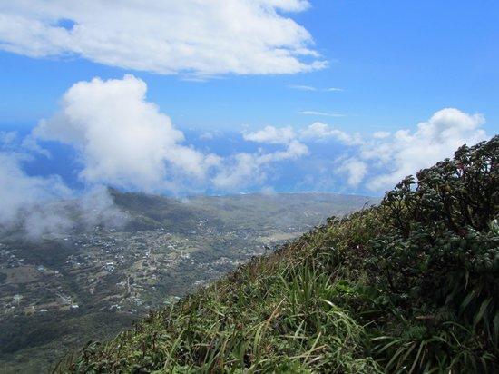 Nevis Peak Hike: Nevis Peak View