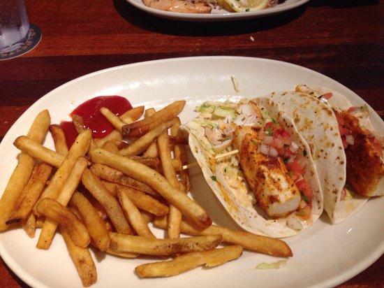 Ram Restaurant & Brewery : Mahi-mahi tacos