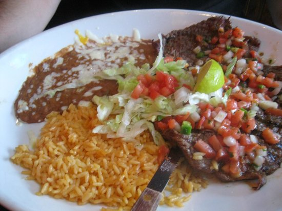 No Way Jose's: Husband's meal