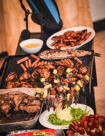 Hotel Sunrich: BBQ Facilities