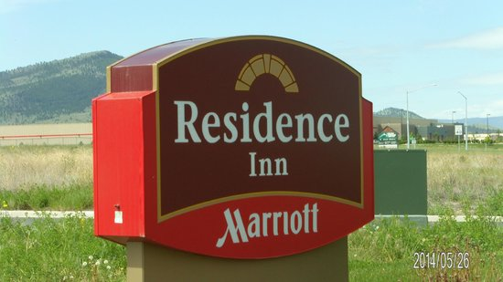 Residence Inn Helena: Name Board