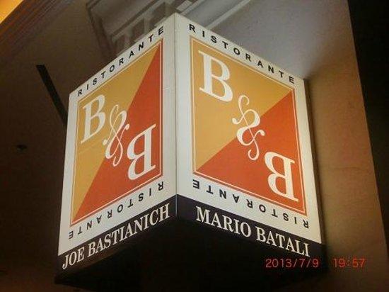 B & B Ristorante: B&B