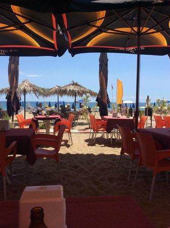 Kleopatra Arsi : Beach 14. (beach of the hotel)