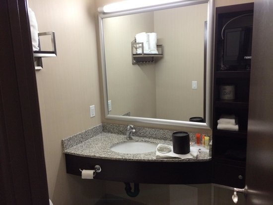 Acclaim Hotel Calgary Airport: Bathroom