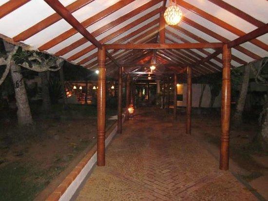 Dickwella Resort & Spa: en route to chalet