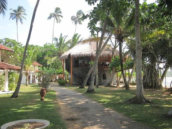 Dickwella Resort & Spa: Baywatch area