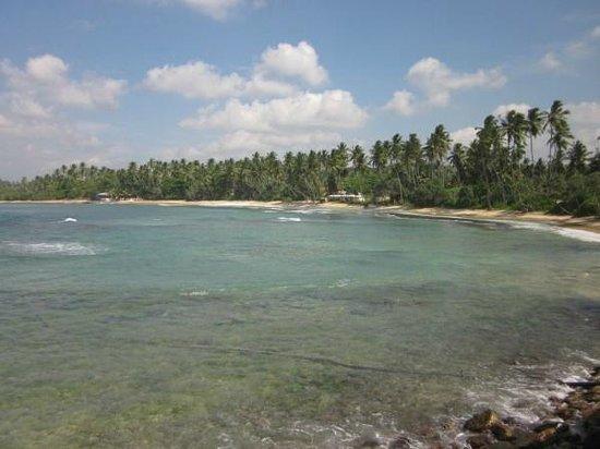 Dickwella Resort & Spa: white sand beach