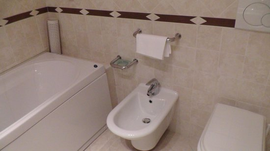 Hotel Plaza: Bathroom with bidet