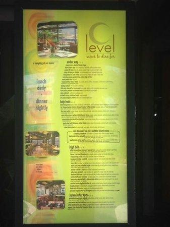 C-Level Lounge : C Level menu