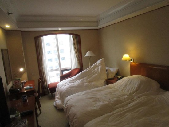 Richmonde Hotel Ortigas: room with extra bed installed
