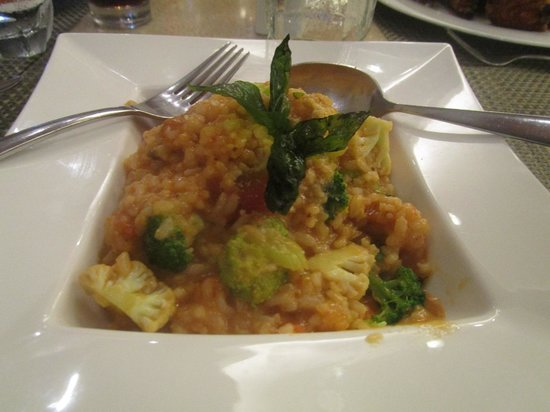 Richmonde Hotel Ortigas: tasty risotto at cafe