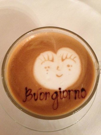 Barocco Hotel : Their good morning coffee!!!! Bella