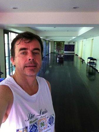 Sukko Cultural Spa & Wellness Resort: salon de Yoga, Shala
