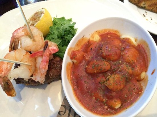 Pacini Calgary: Surf and turf with a side of gnocchi