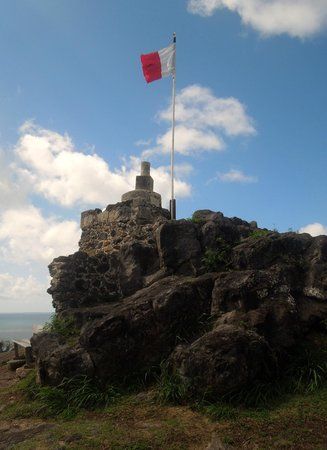 Fort Louis: The highest point of the fort