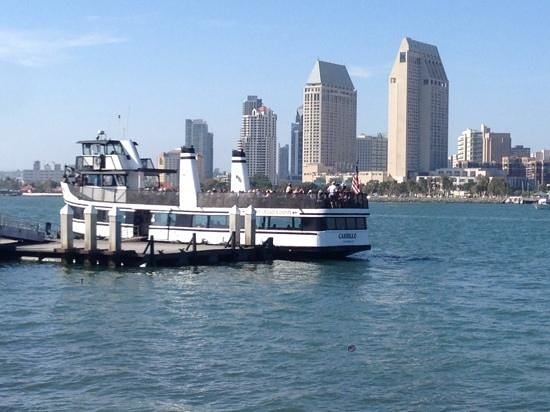 The Coronado Ferry Landing: Only worth while thing...the ferry!