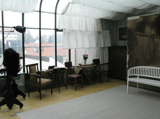 Museum Fotoatelier Seidel: view of the studio