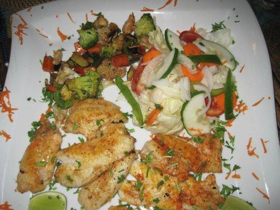 Aji Tapa Bar & Restaurant: Pescado a la plancha